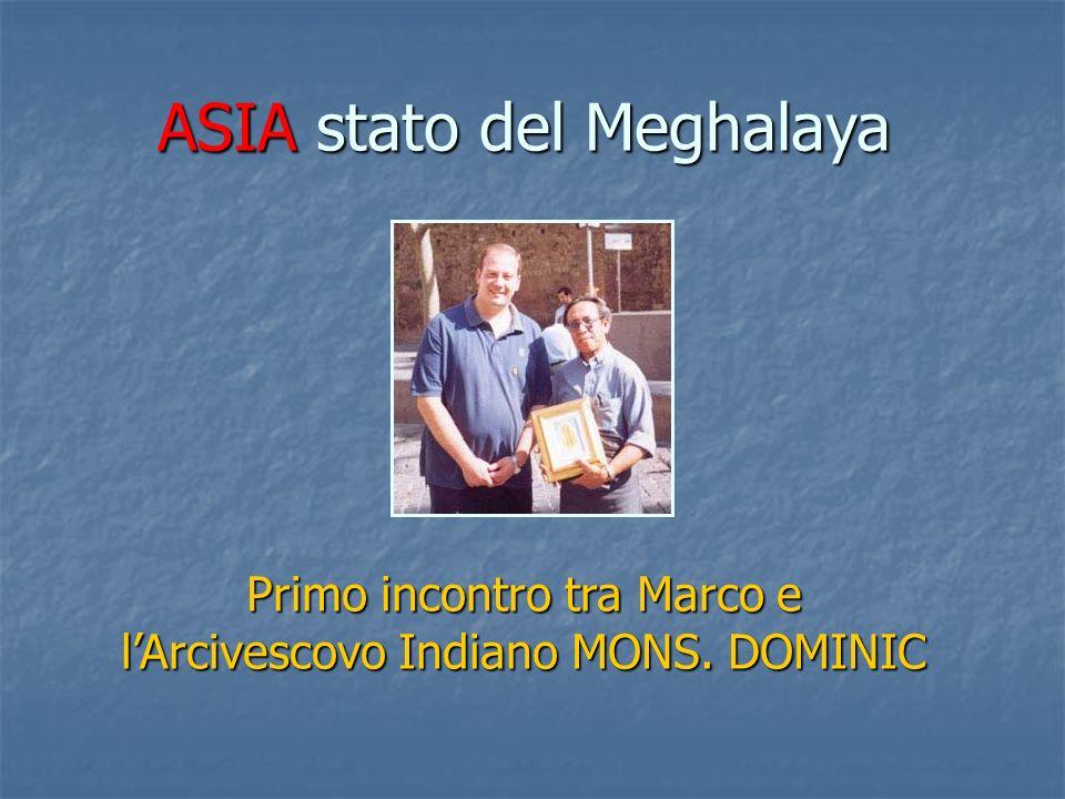 ASIA stato del Meghalaya