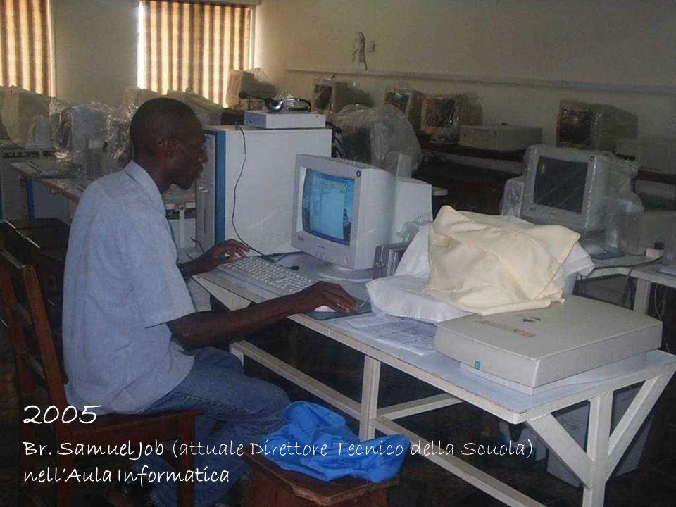 2005 Br. Samuel Job (attuale Direttore Tecnico della Scuola)