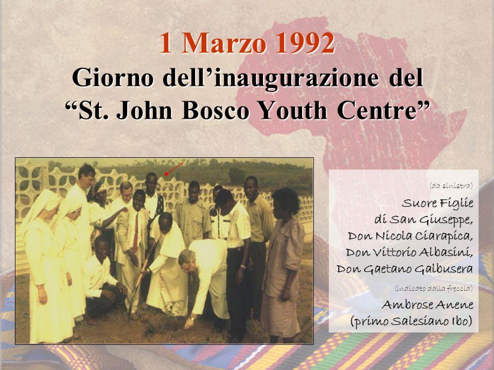 1 Marzo 1992 Giorno dell'inaugurazione del St