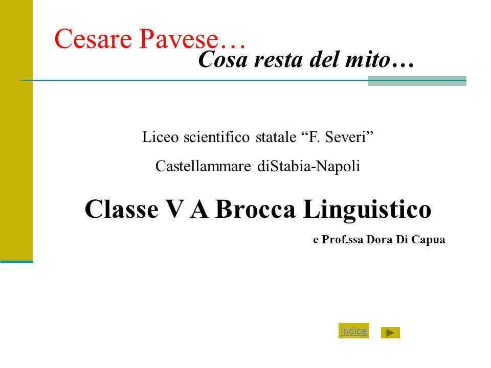 Classe V A Brocca Linguistico