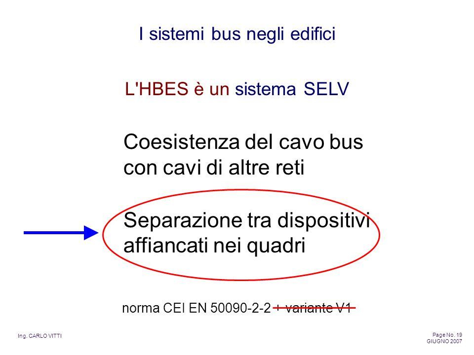 norma CEI EN 50090-2-2 + variante V1