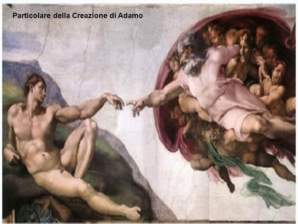 Particolare della Creazione di Adamo