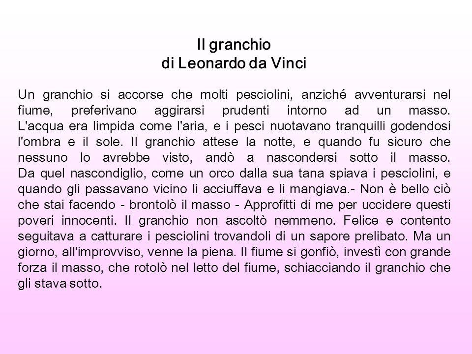 Il granchio di Leonardo da Vinci