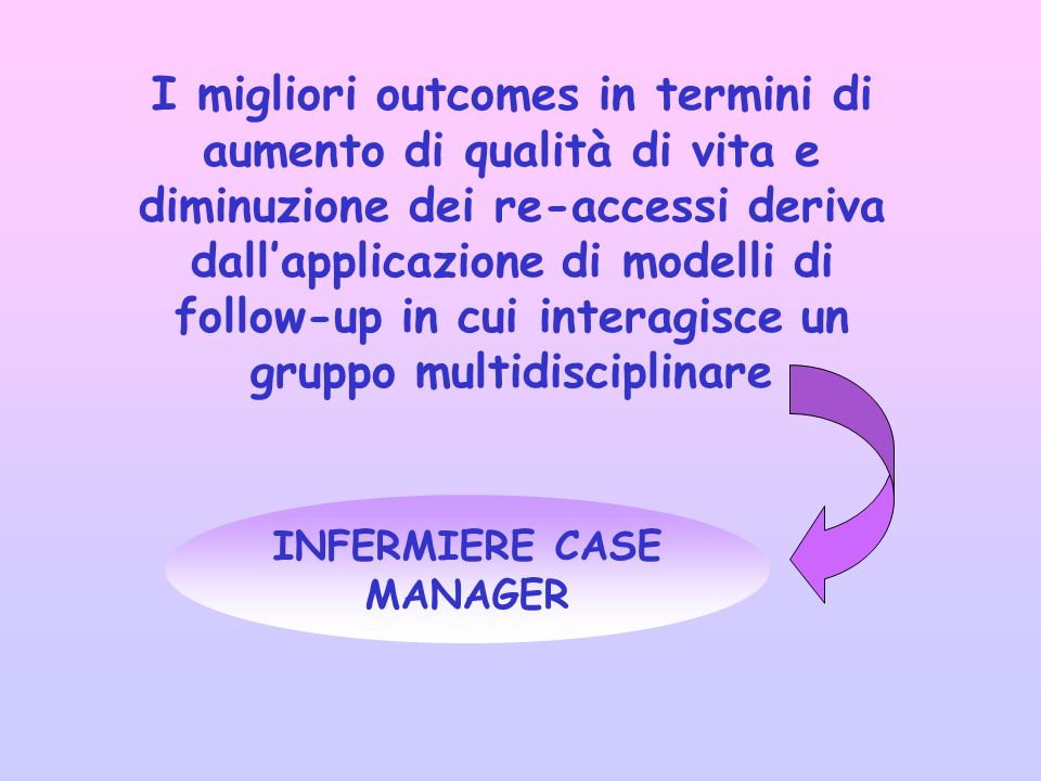 INFERMIERE CASE MANAGER