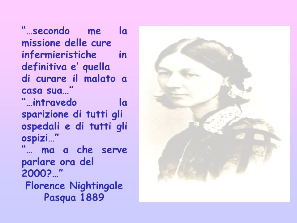 Florence Nightingale Pasqua 1889