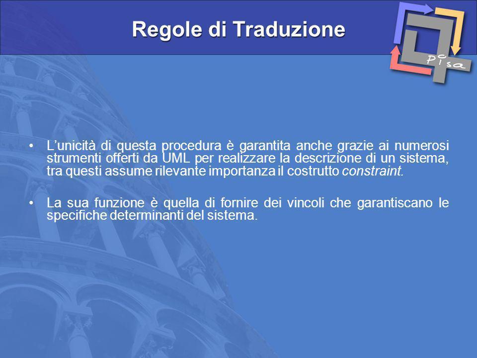 Regole di Traduzione