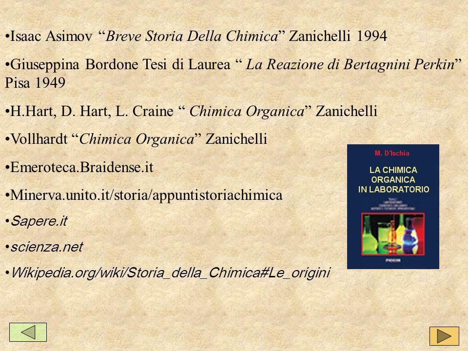 Isaac Asimov Breve Storia Della Chimica Zanichelli 1994