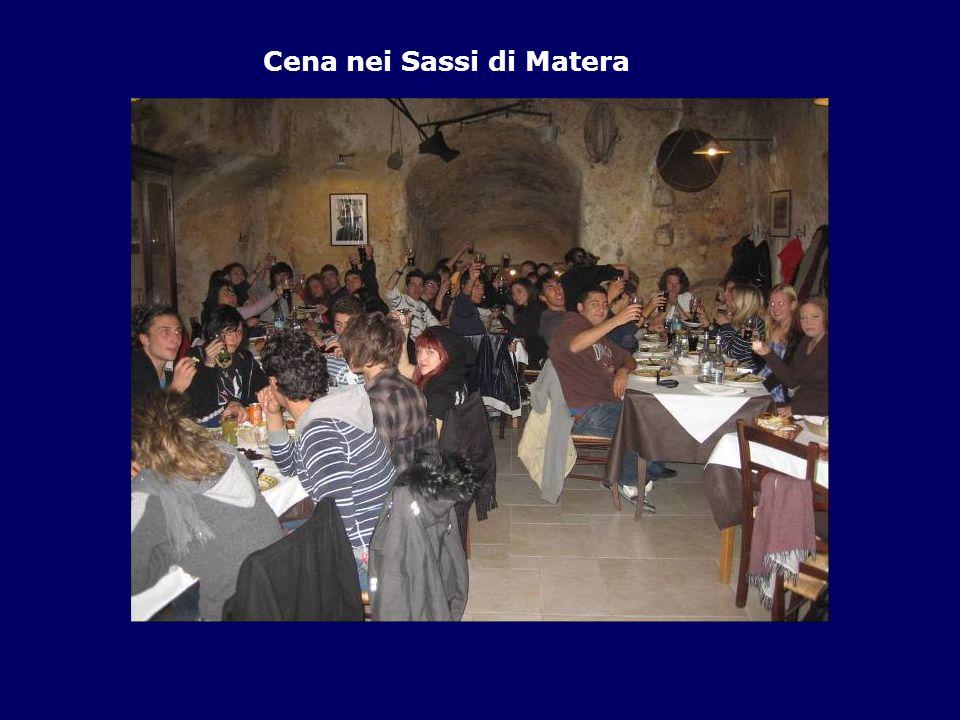 Cena nei Sassi di Matera