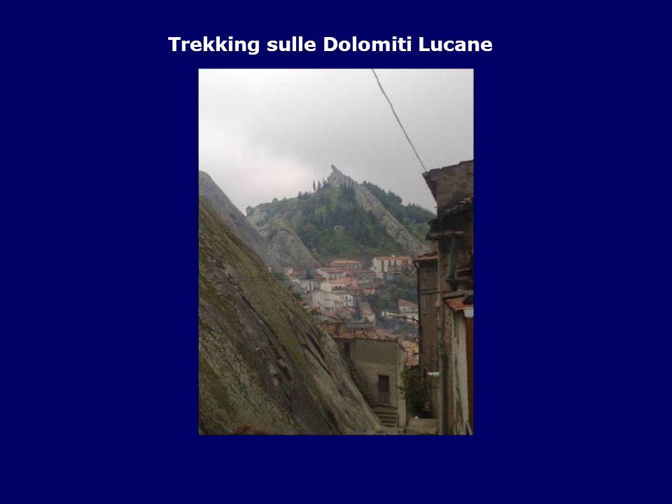 Trekking sulle Dolomiti Lucane