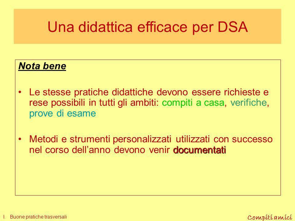 Una didattica efficace per DSA