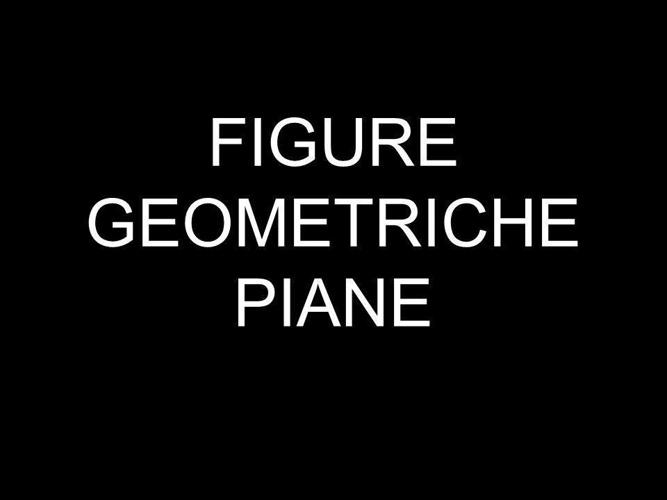 FIGURE GEOMETRICHE PIANE