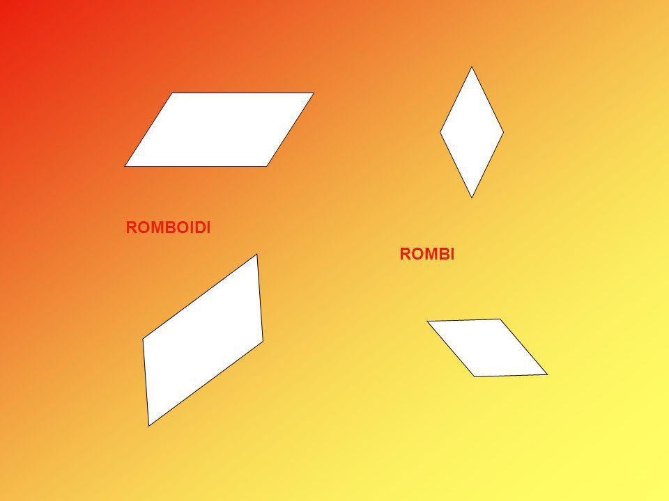 ROMBOIDI ROMBI