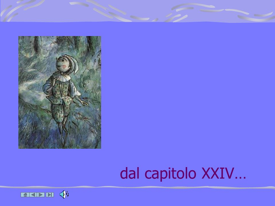dal capitolo XXIV…