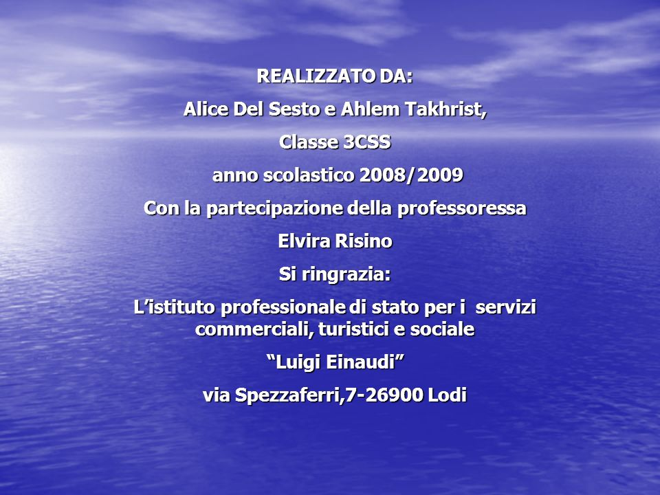 Alice Del Sesto e Ahlem Takhrist, Classe 3CSS