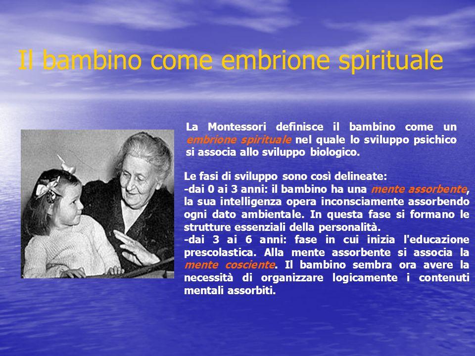 Il bambino come embrione spirituale