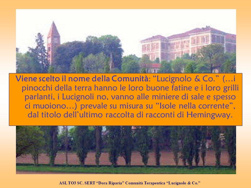 Viene scelto il nome della Comunità: Lucignolo & Co