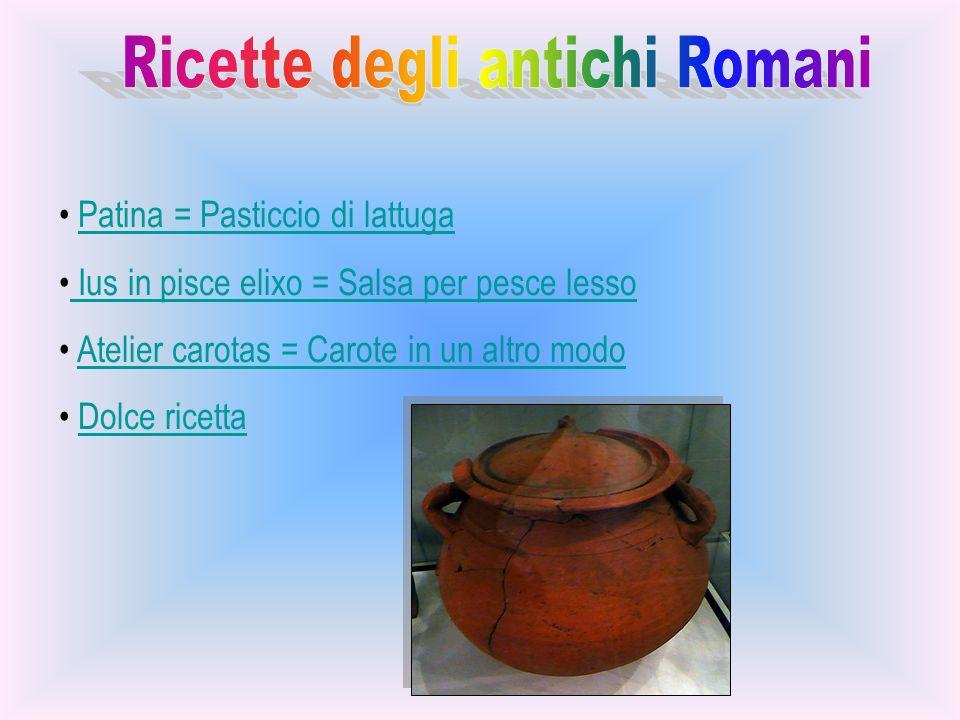 Ricette degli antichi Romani