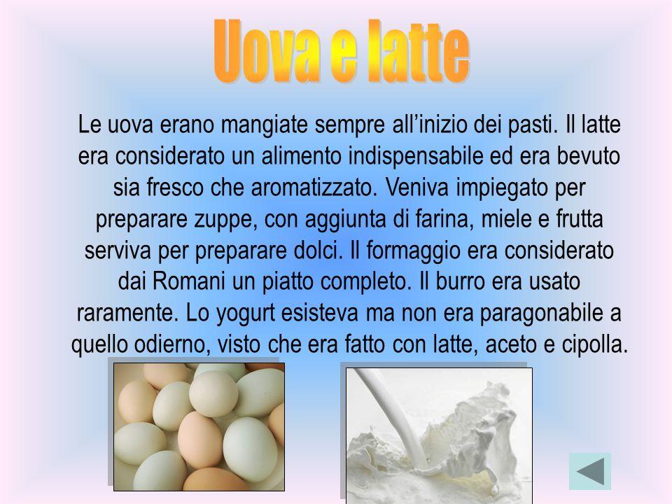 Uova e latte