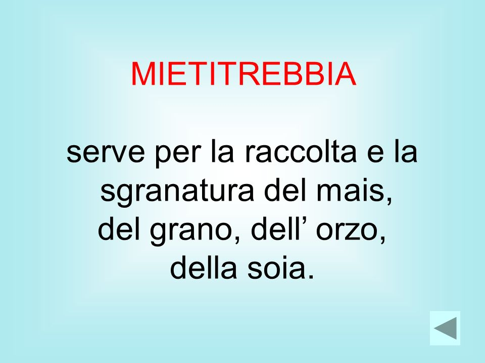 serve per la raccolta e la