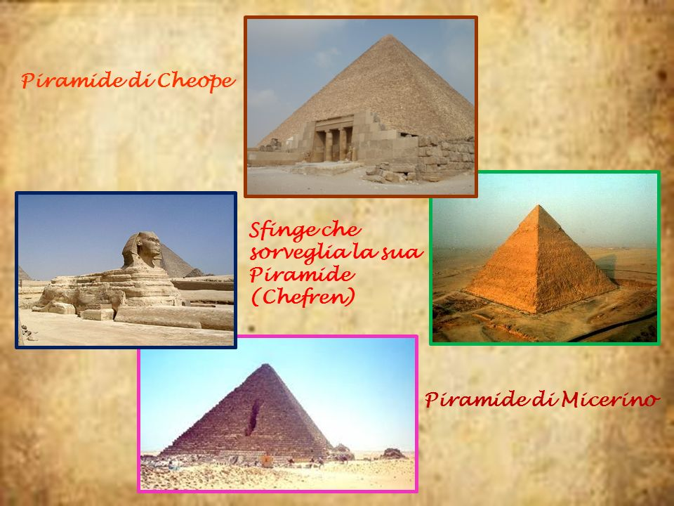 Sfinge che sorveglia la sua Piramide