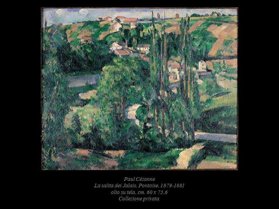 Paul Cézanne La salita dei Jalais, Pontoise, 1879-1881 olio su tela, cm.