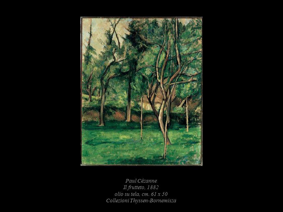 Paul Cézanne Il frutteto, 1882 olio su tela, cm