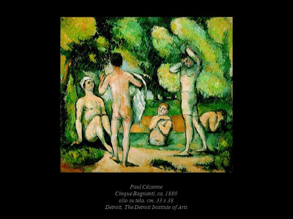 Paul Cézanne Cinque Bagnanti, ca. 1880 olio su tela, cm