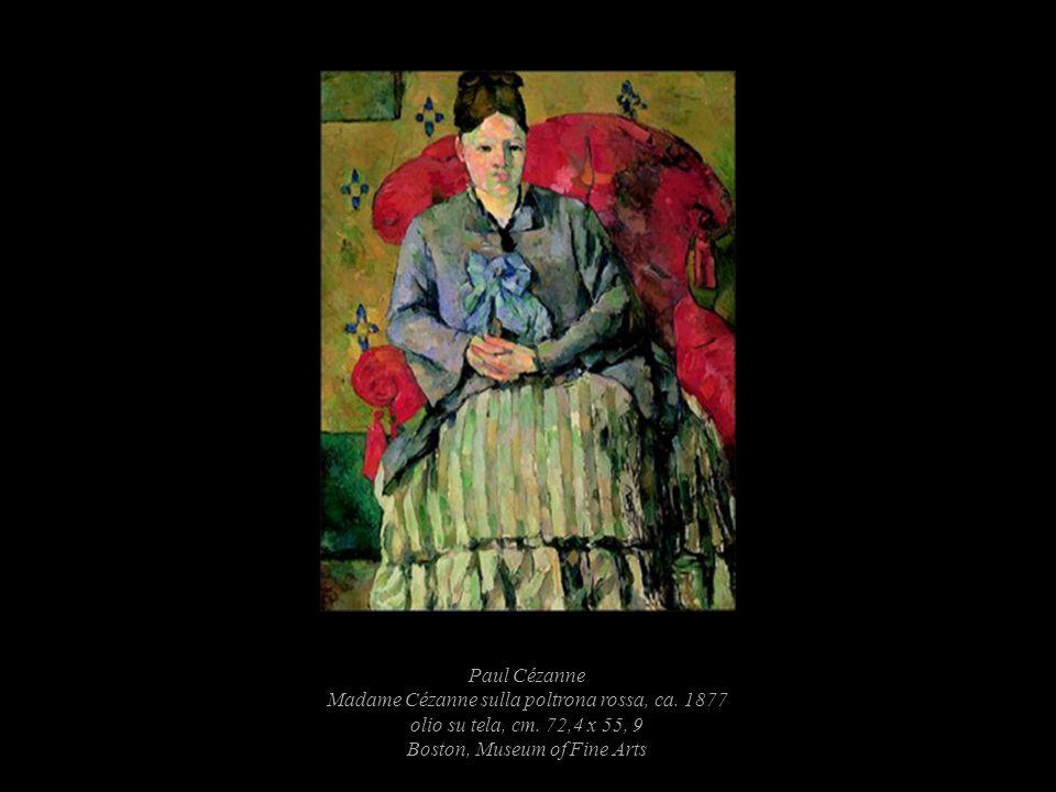 Paul Cézanne Madame Cézanne sulla poltrona rossa, ca