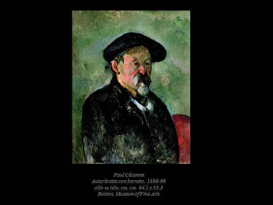 Paul Cézanne Autoritratto con berretto, 1898-99 olio su tela, cm. cm
