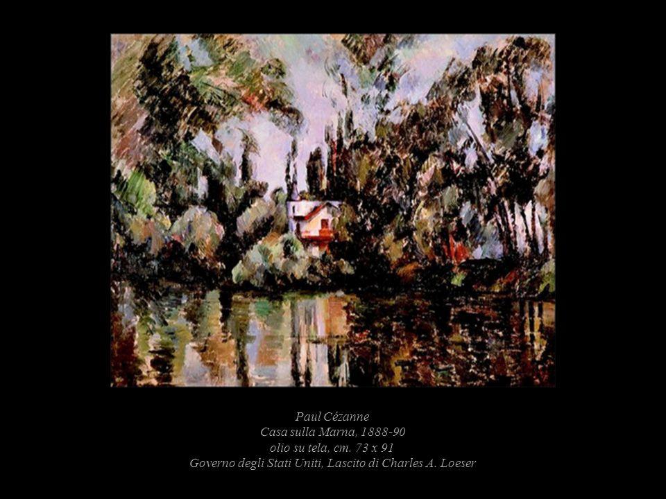 Paul Cézanne Casa sulla Marna, 1888-90 olio su tela, cm
