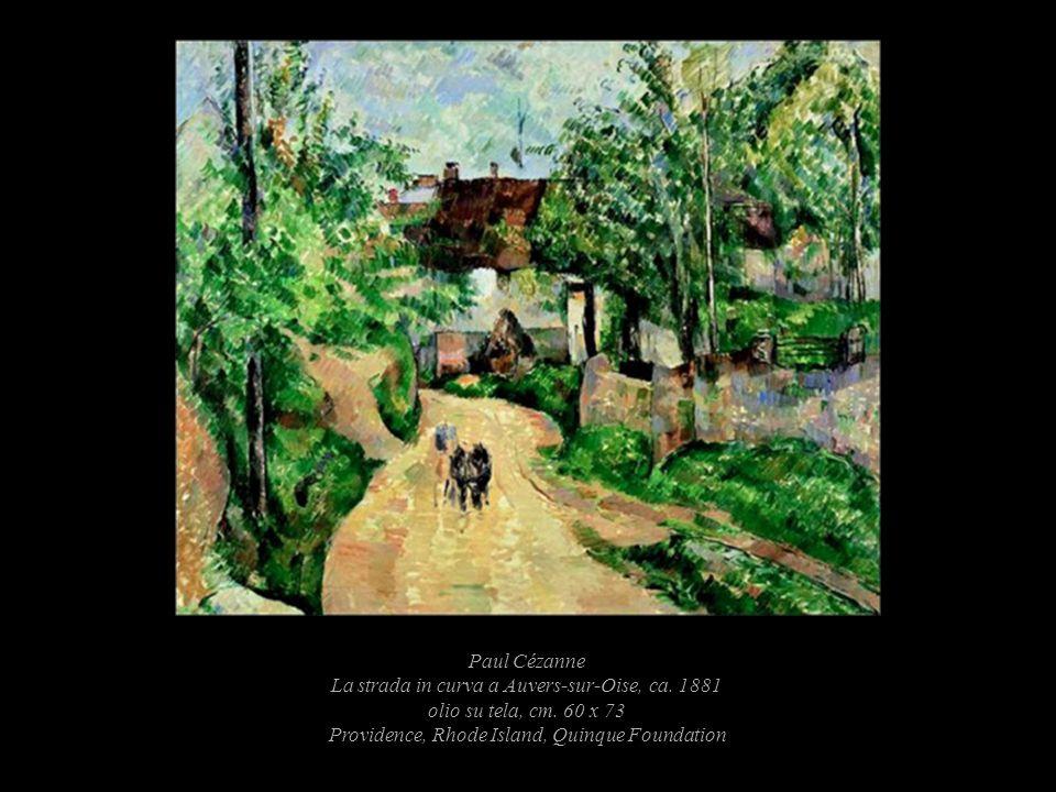 Paul Cézanne La strada in curva a Auvers-sur-Oise, ca