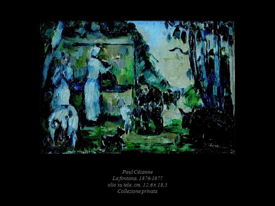 Paul Cézanne La fontana, 1876-1877 olio su tela, cm