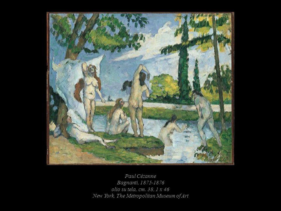 Paul Cézanne Bagnanti, 1875-1876 olio su tela, cm