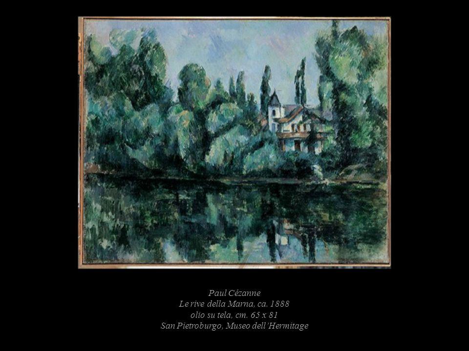 Paul Cézanne Le rive della Marna, ca. 1888 olio su tela, cm