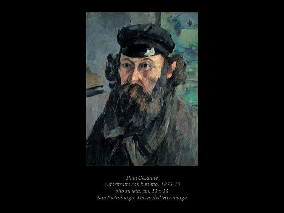 Paul Cézanne Autoritratto con berretto, 1873-75 olio su tela, cm