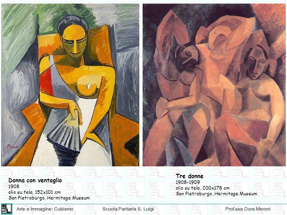Tre donne Donna con ventaglio 1908-1909 olio su tela, 200x178 cm 1908