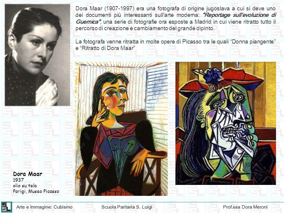 Dora Maar (1907-1997) era una fotografa di origine jugoslava a cui si deve uno dei documenti più interessanti sull arte moderna: Reportage sull evoluzione di Guernica , una serie di fotografie ora esposte a Madrid in cui viene ritratto tutto il percorso di creazione e cambiamento del grande dipinto.