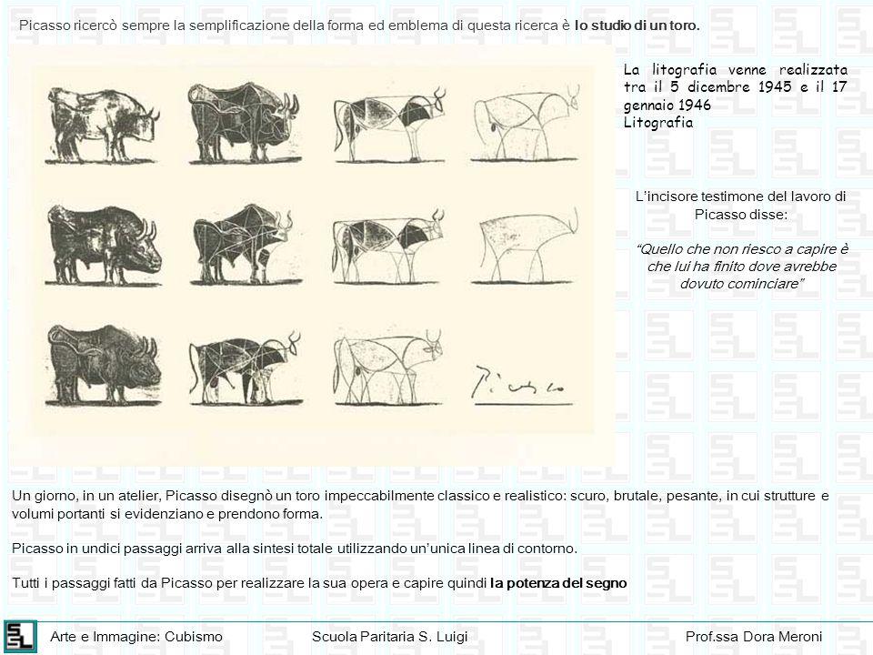 L'incisore testimone del lavoro di Picasso disse: