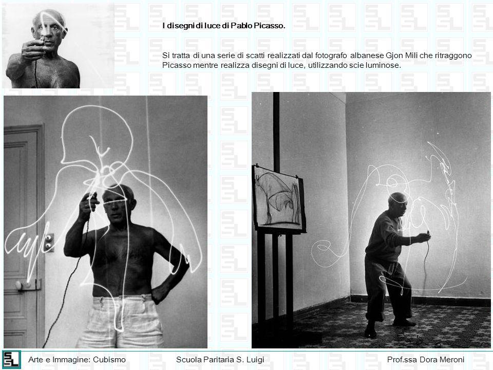 I disegni di luce di Pablo Picasso.