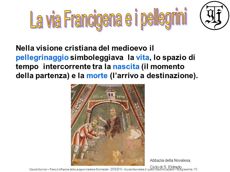 La via Francigena e i pellegrini