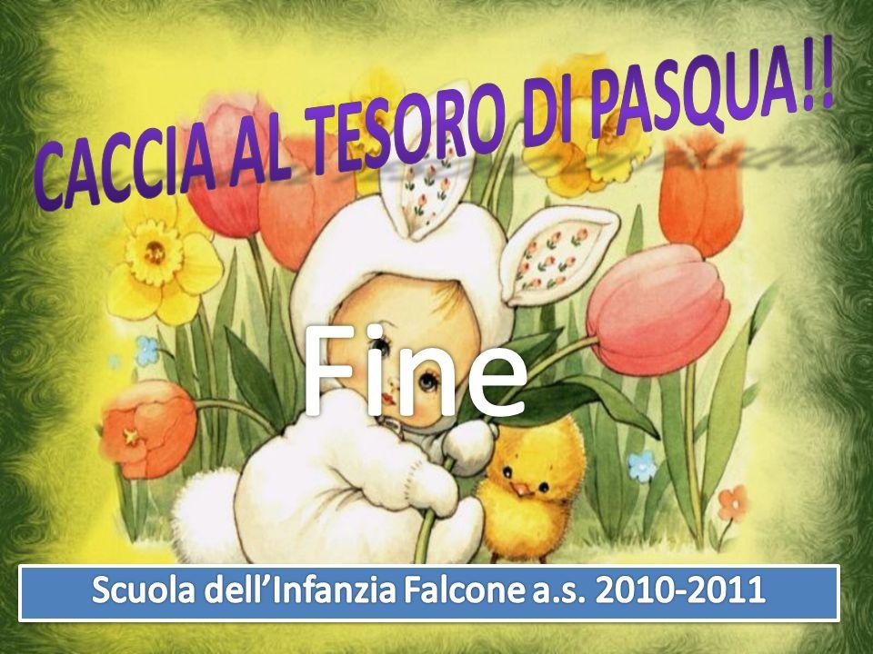 Caccia al tesoro di Pasqua!!