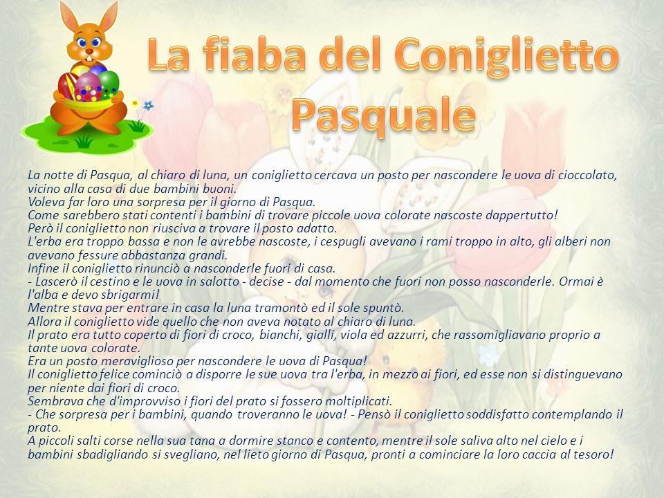 La fiaba del Coniglietto Pasquale