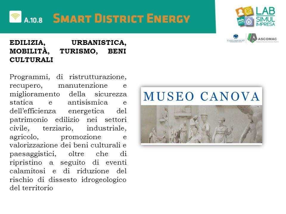 Edilizia, Urbanistica, Mobilità, Turismo, Beni culturali