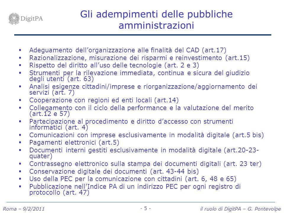 Gli adempimenti delle pubbliche amministrazioni