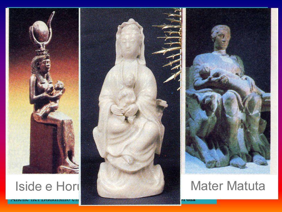 Fu pertanto chiamata Maria vergine e, assieme a suo figlio, fu adorata dai professanti cristiani esattamente come da tutti i popoli pagani che li avevano preceduti.