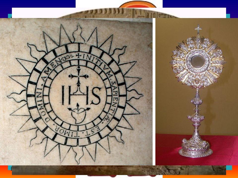 Il disco rotondo è frequente nei sacri emblemi d'Egitto e simboleggiava il sole. Osiride o Horus difatti era una divinità solare . Il dio Sole in Egitto era chiamato anche Ra.