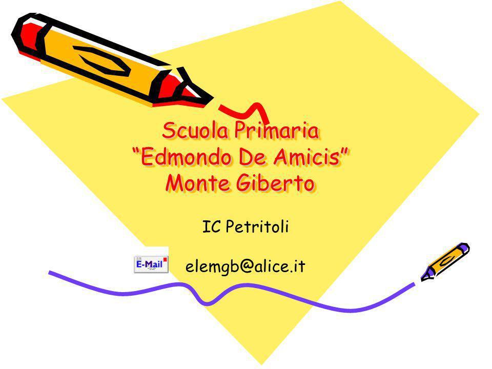 Scuola Primaria Edmondo De Amicis Monte Giberto
