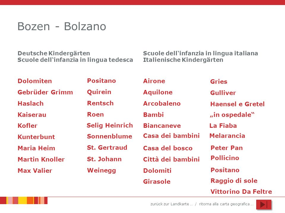 Bozen - Bolzano Dolomiten Positano Airone Gries Gebrüder Grimm Quirein