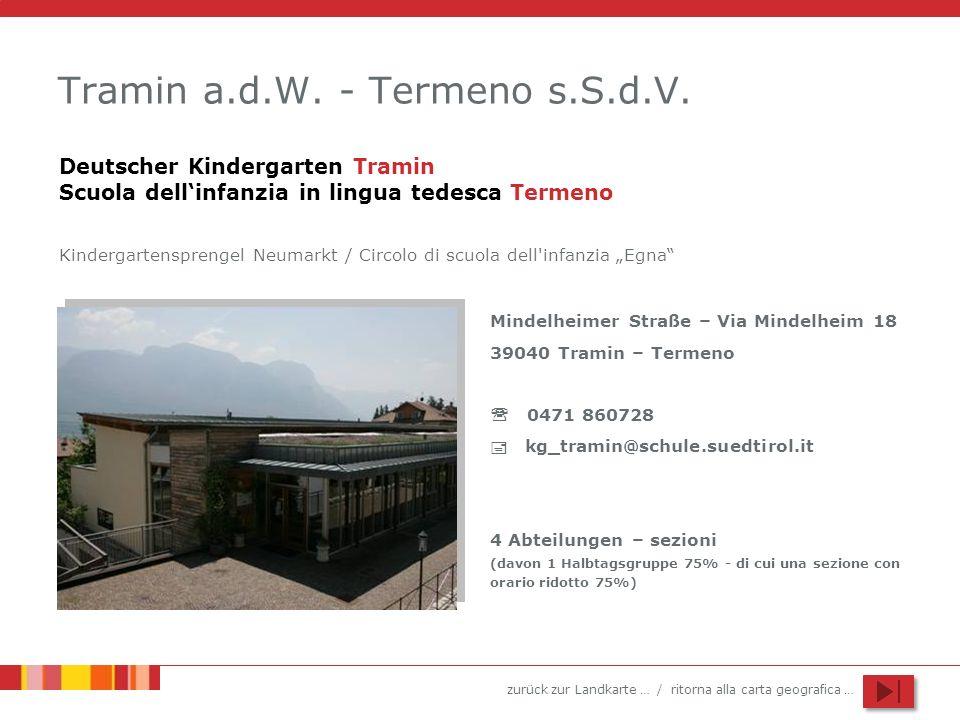 Tramin a.d.W. - Termeno s.S.d.V.