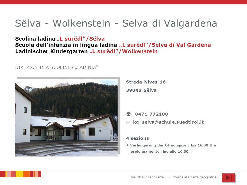 Sëlva - Wolkenstein - Selva di Valgardena